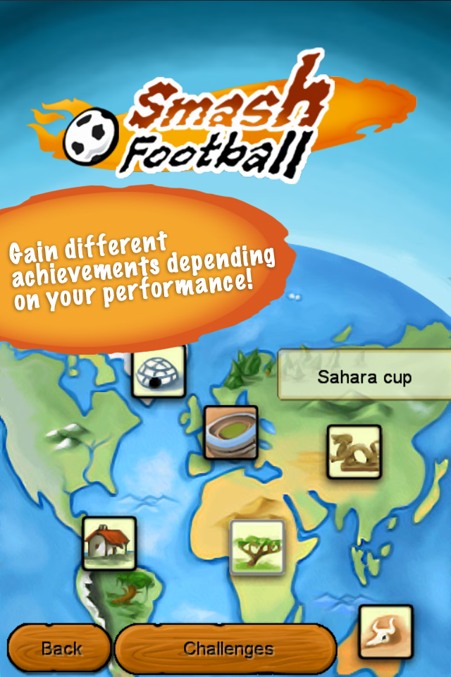 Screenshot Smash football – the ultimate arcade soccer -